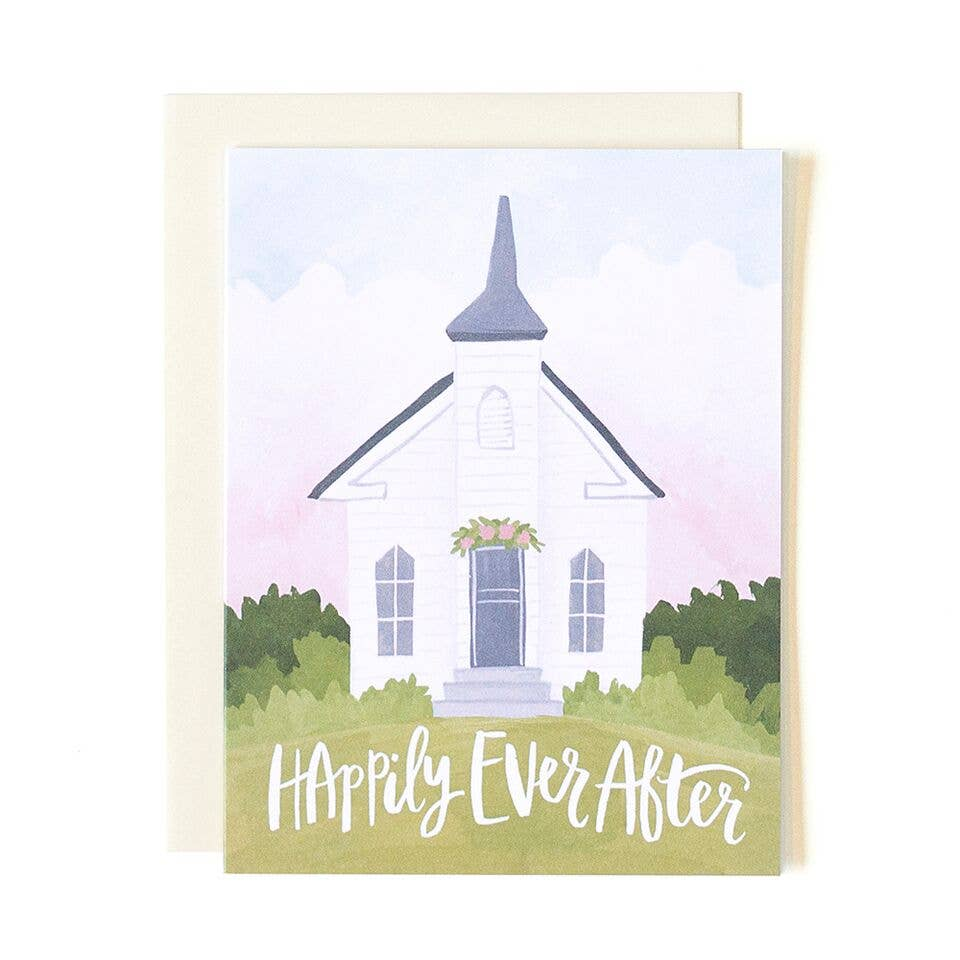 Wedding Chapel Greeting Card