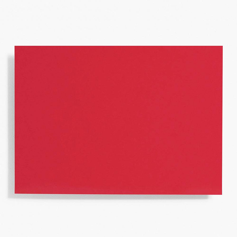 A7 Red Note Cards | Set of 10