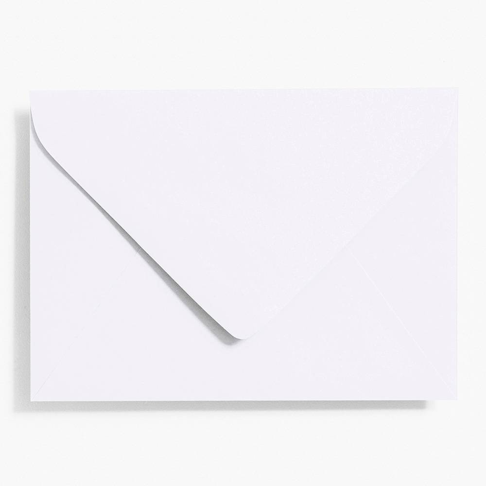 4 Bar White Envelopes | Set of 10