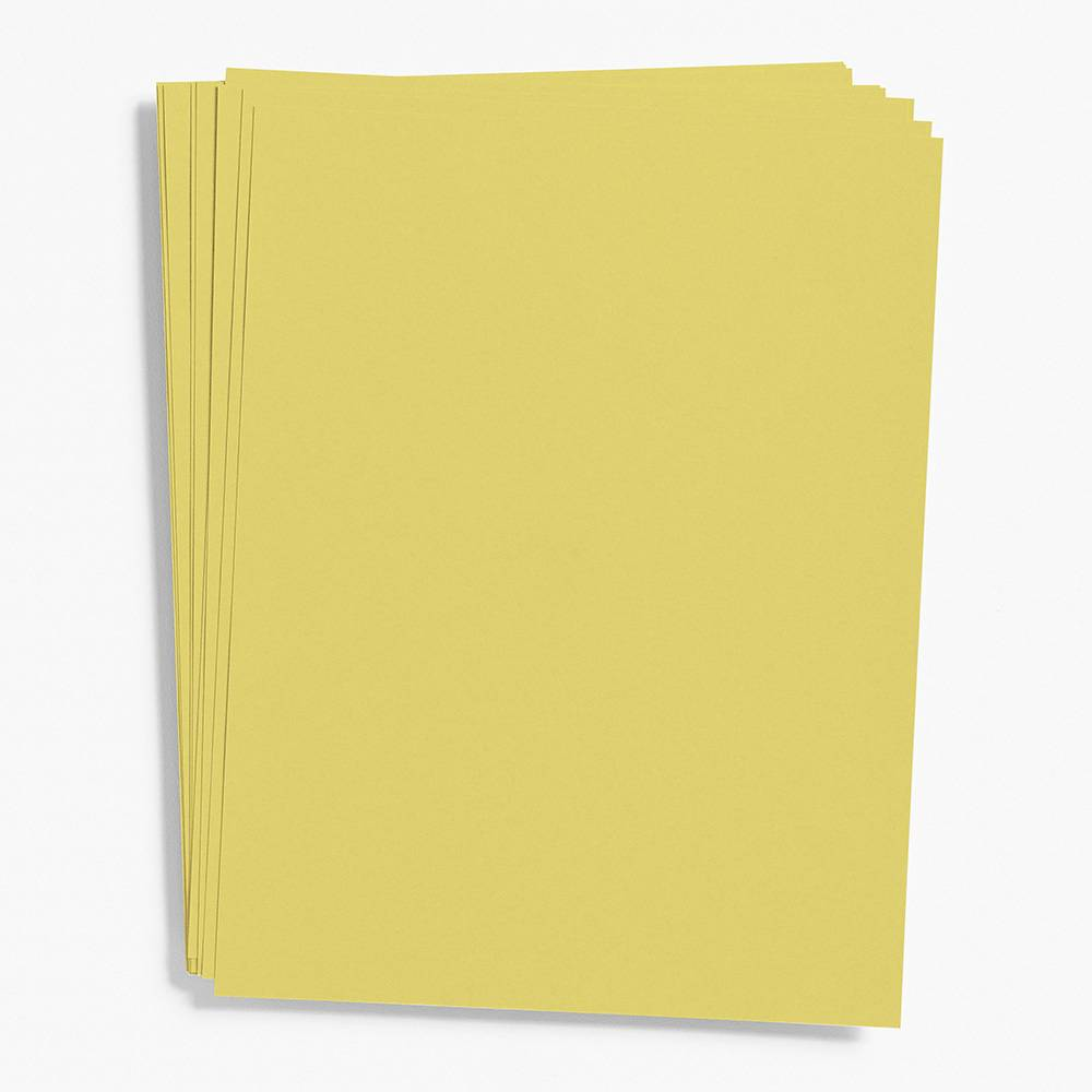 A7 Chartreuse Note Cards | Set of 10