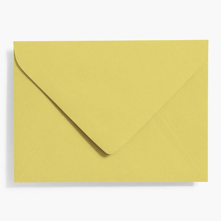 A7 Chartreuse Envelopes | Set of 10