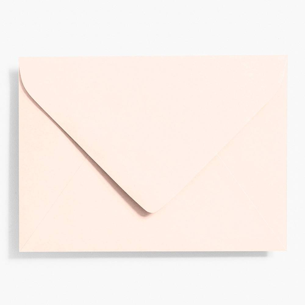 A7 Luxe Blush Envelopes | Set of 10