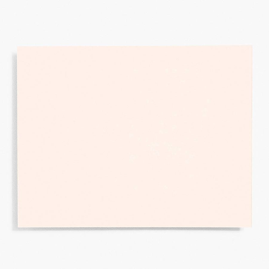 A2 Luxe Blush Note Cards | Set of 10