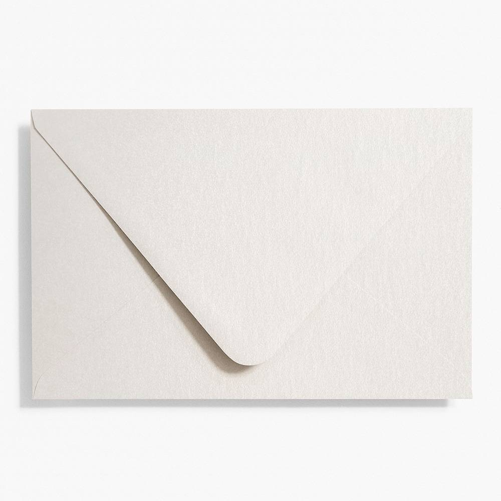 4 Bar Silver Shimmer Envelopes | Set of 10