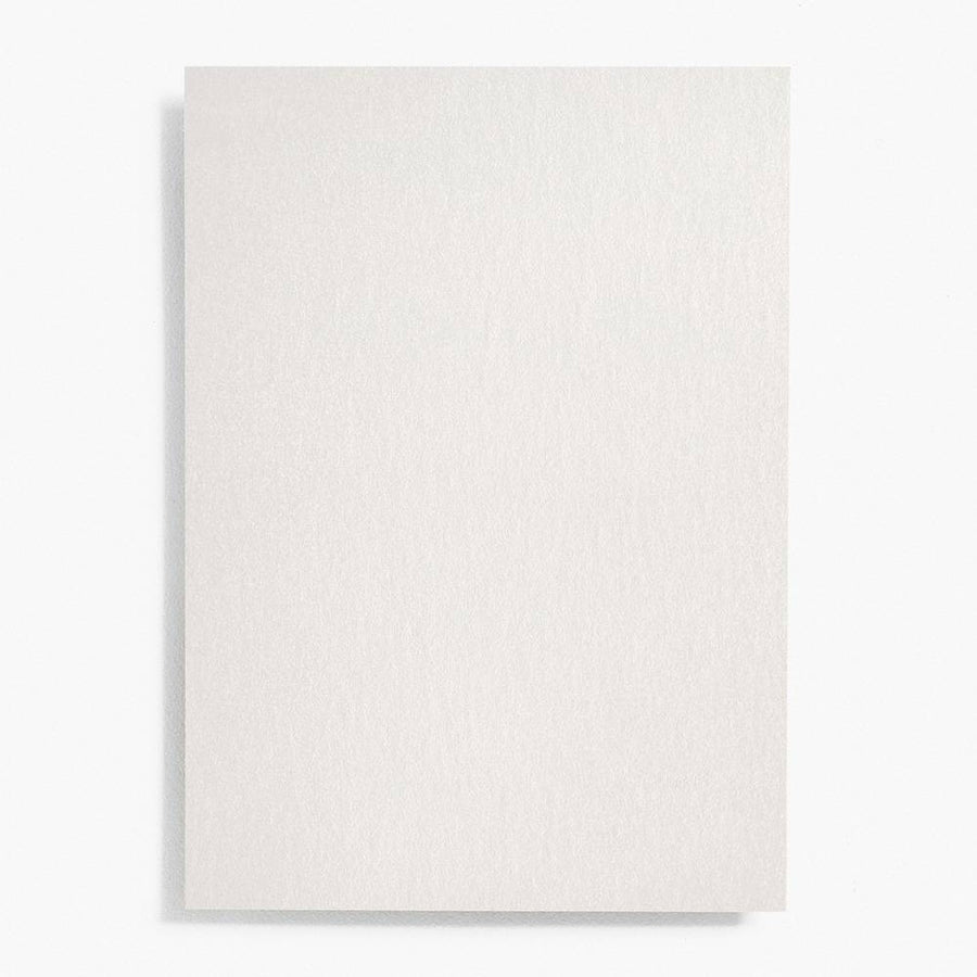 4 Bar Silver Shimmer Note Cards | Set of 10