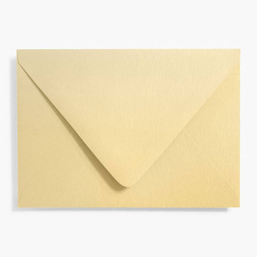4 Bar Shimmer Gold Envelopes | Set of 10