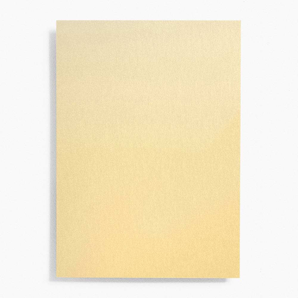 4 Bar Shimmer Gold Note Cards | Set of 10