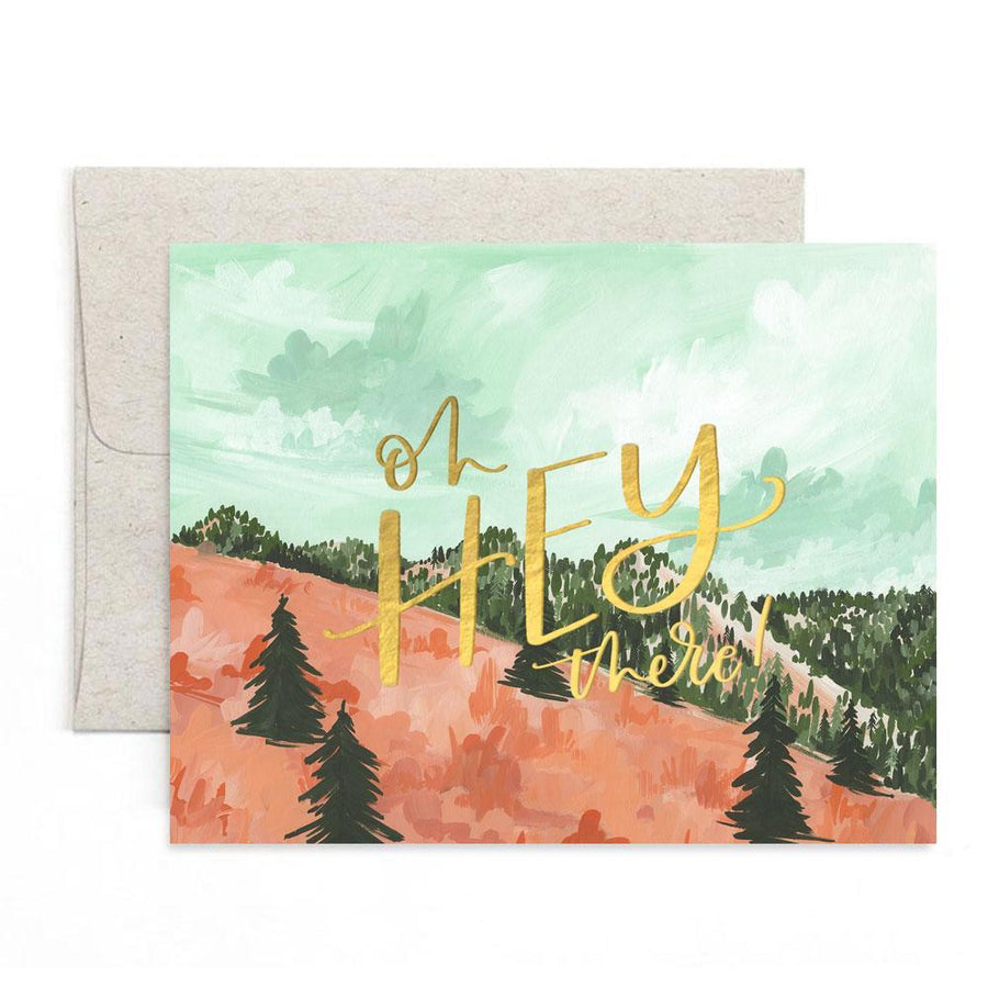 Hey There Sherwood Greeting Card