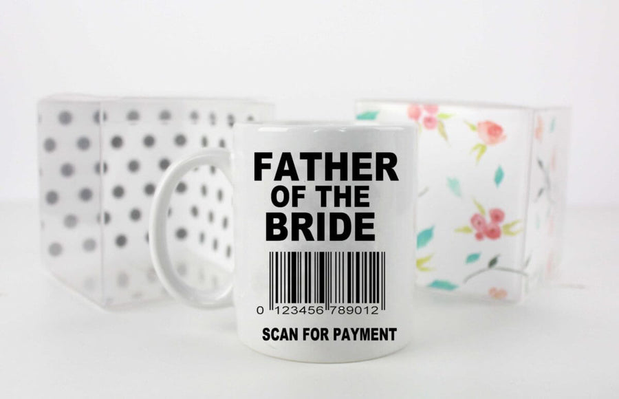 Scan For Payment Father of The Bride Mug
