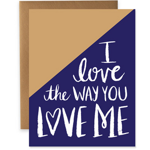 Geometric Love Greeting Card