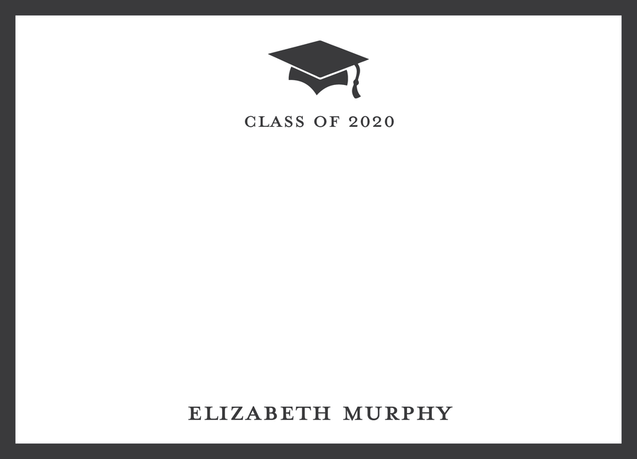 Graduation Flat Note (with envelope liner)