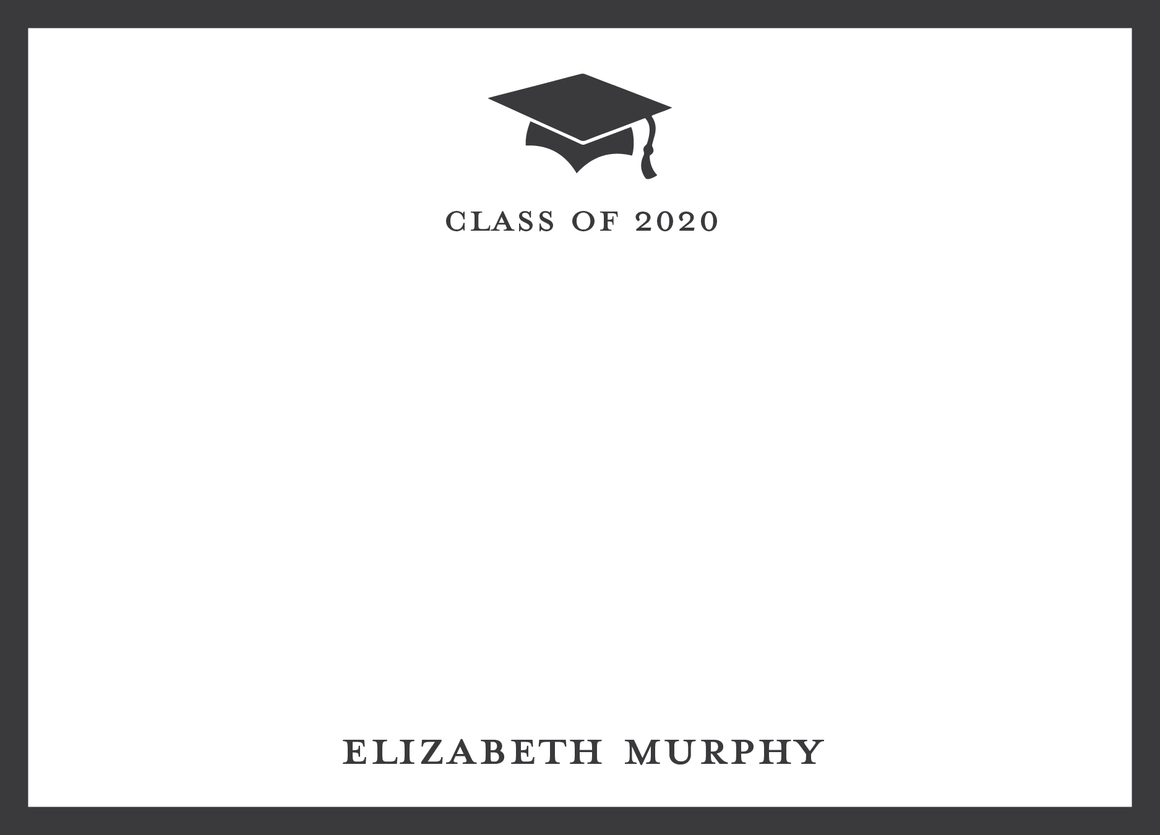 Graduation Flat Note (without envelope liner)