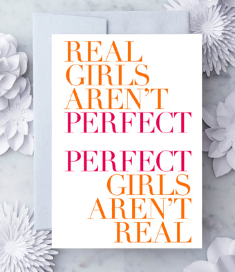 Perfect Girls Card