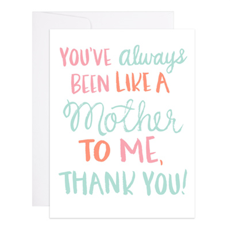 Second Mother Mother's Day Card