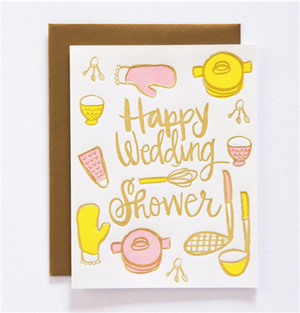 Wedding Shower Greeting Card