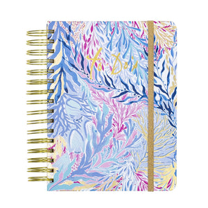 lilly pulitzer undated to do planner ~ kaleidoscope coral