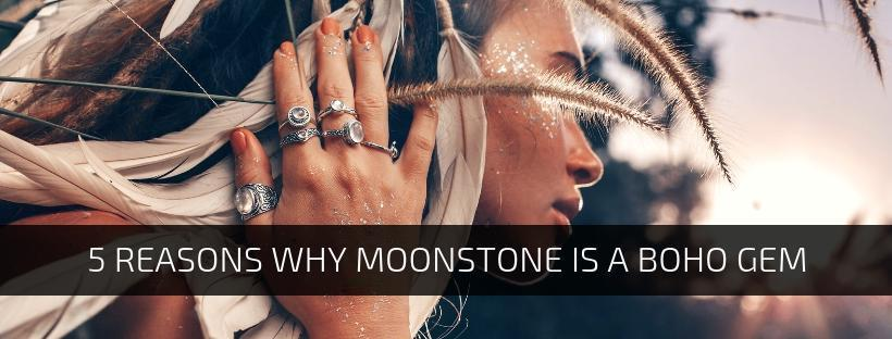 5 Reasons Why Moonstone Is A Boho Gem