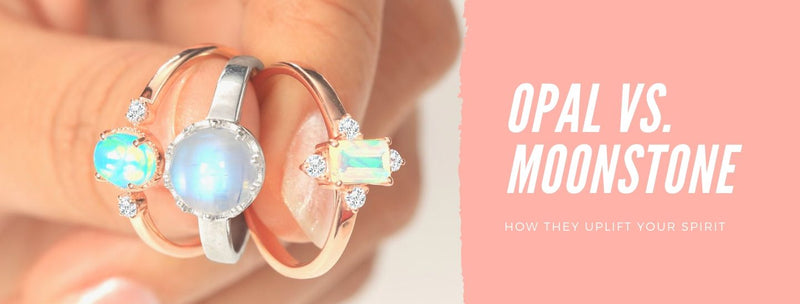 Opal vs. Moonstone: How They Uplift Your Spirit