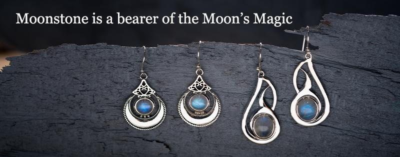 Moonstone is a bearer of the Moon's Magic