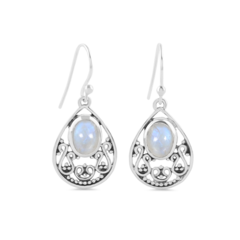 Moonstone Earring-Flawless Hymn