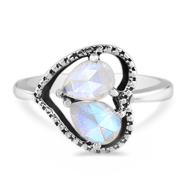 Moonstone Ring - Love And Devotion