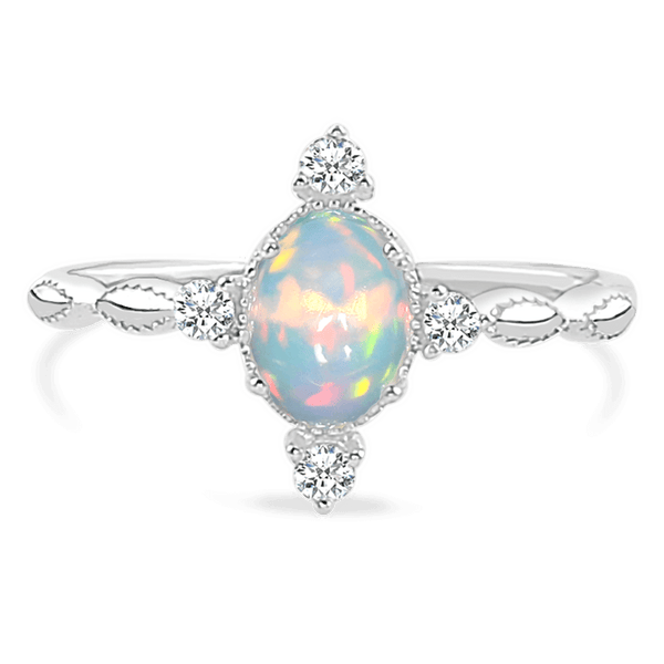 Opal Ring - Brilliance