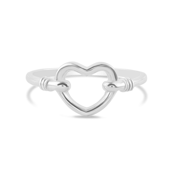 Silver Ring - Linking Love