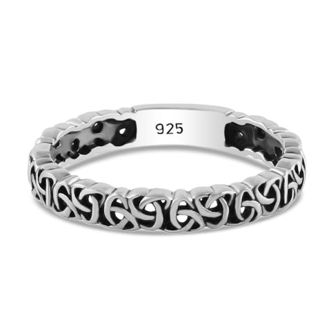 sterling silver ring celtic design