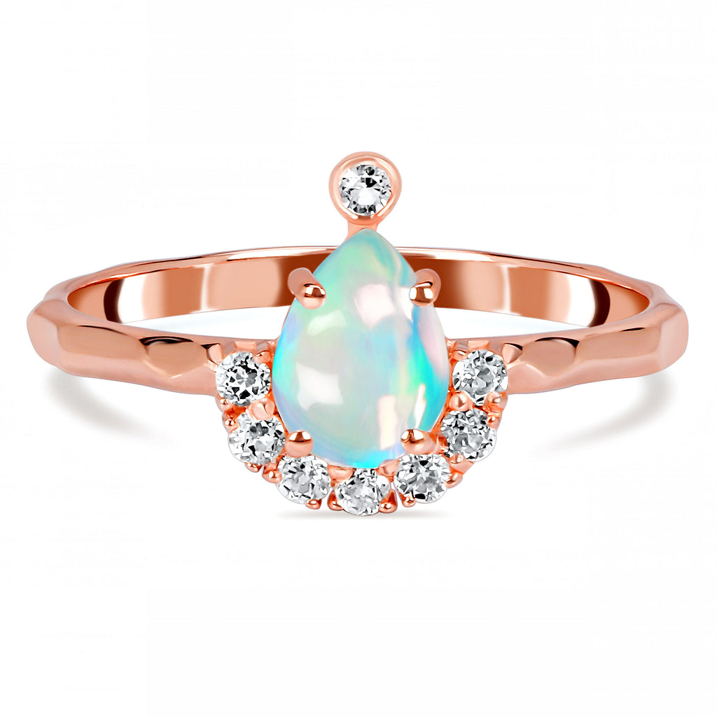 Opal Ring-Brilliance