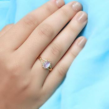 Moonstone Gold Ring - Verve