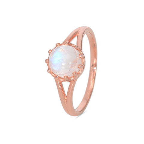 Moonstone Ring-Honor-S