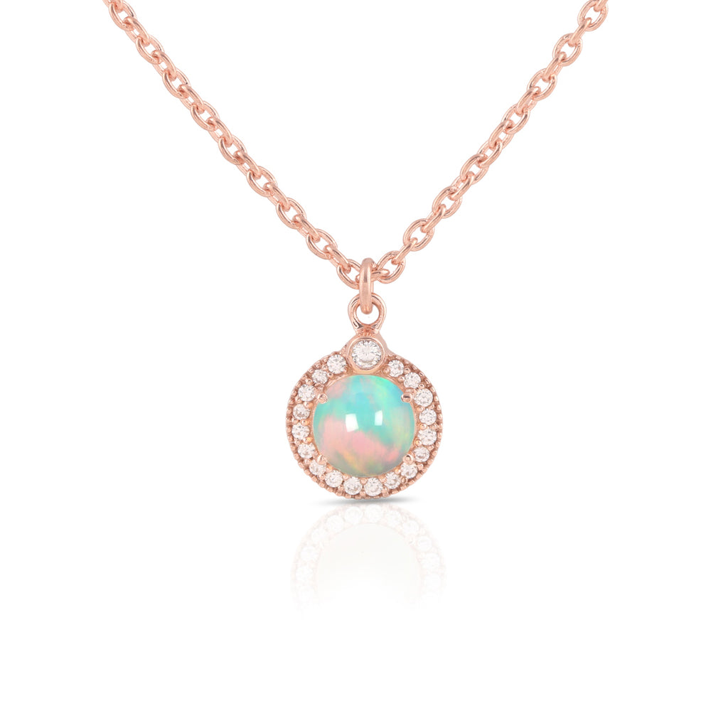 Opal Necklace-Vibrance
