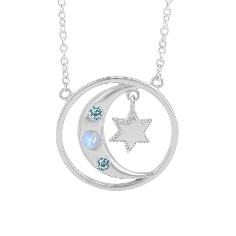 Moonstone Necklace-Albedo