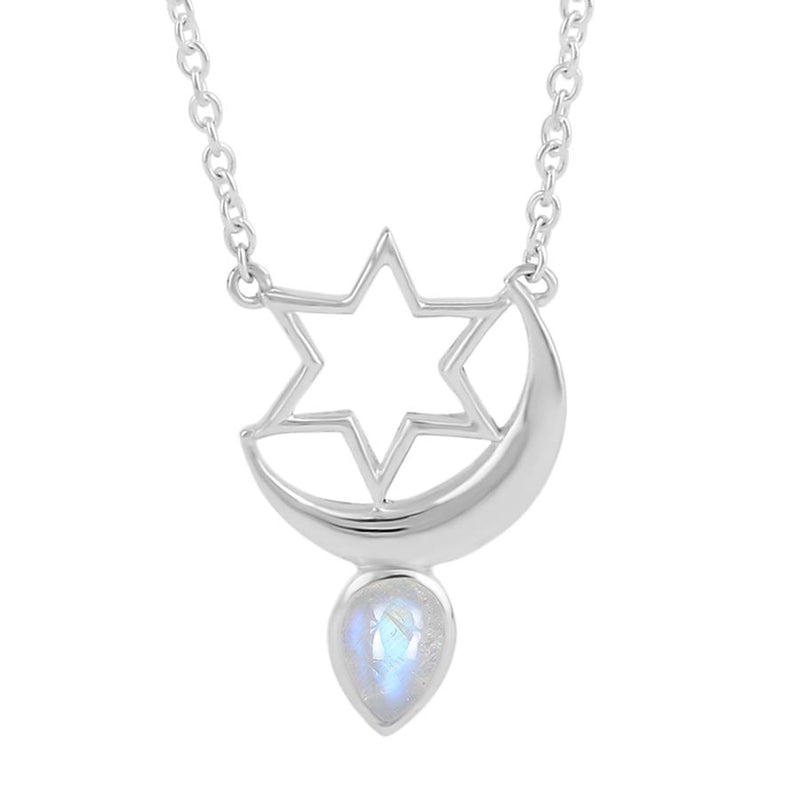 Moonstone Necklace-Galileo