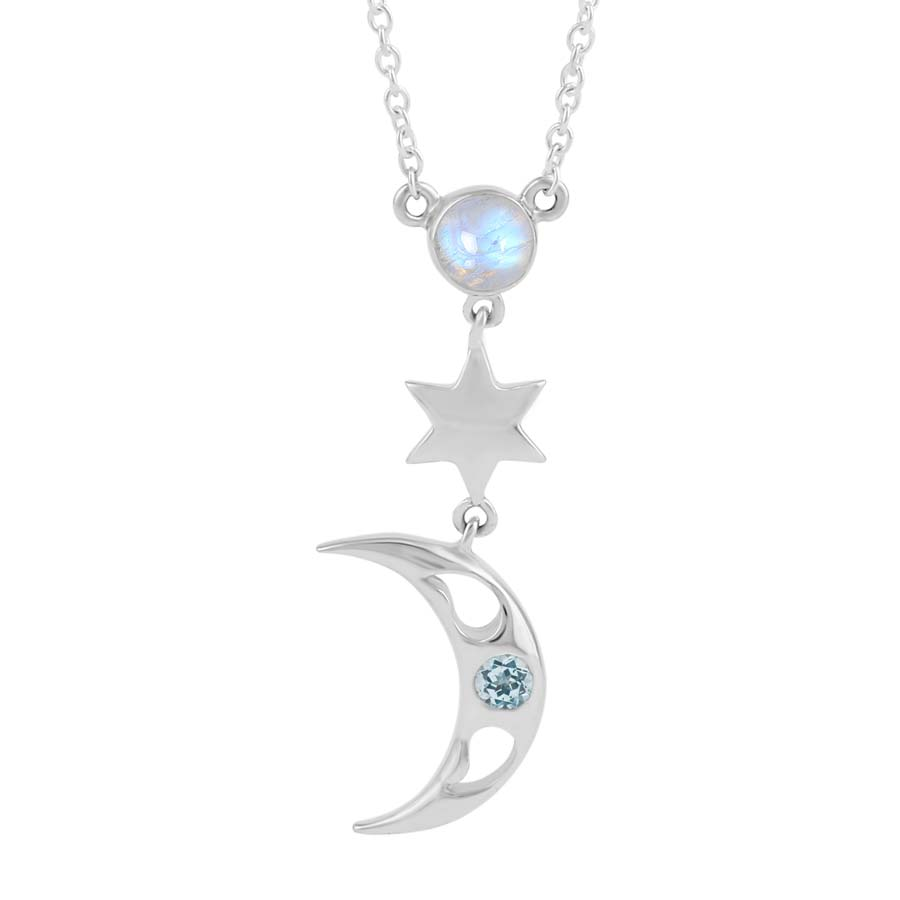 Moonstone Necklace-Moonstruck