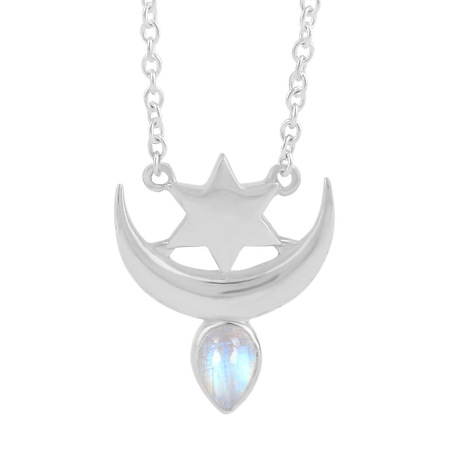 Moonstone Necklace-Sinus