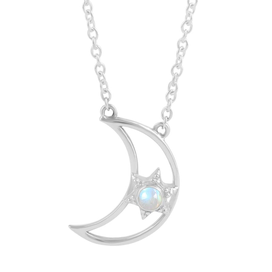 Moonstone Necklace-Supernova