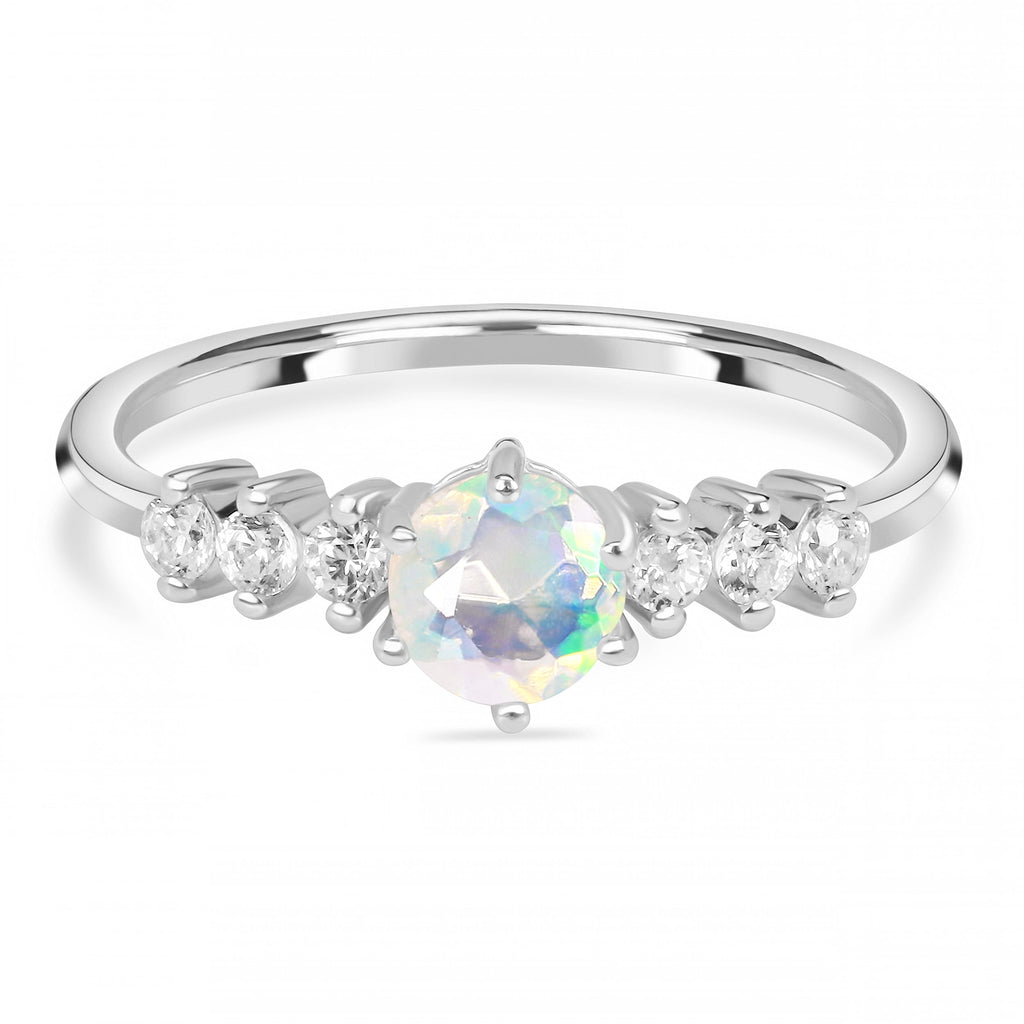 Opal Ring-Affluence