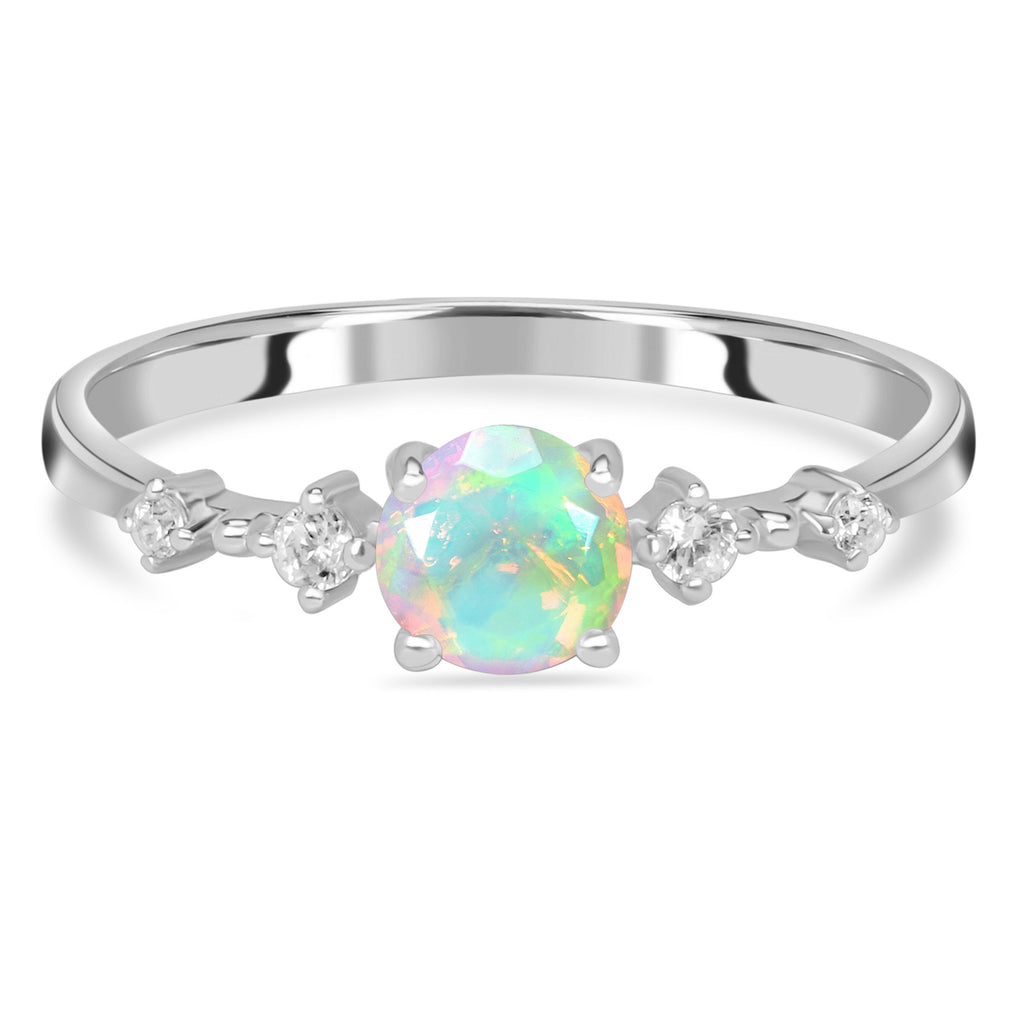 Opal Ring-Angel