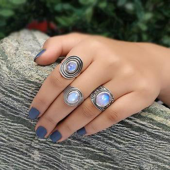 Moonstone Ring-Cheeky Moon