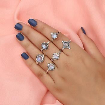 Moonstone Ring-Charming Expression