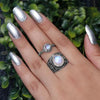 Moonstone Ring-Vibrant Bond