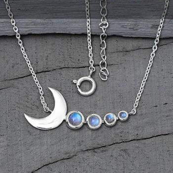 Moonstone Necklace-Cupid Moon
