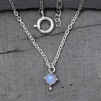 Moonstone Necklace-Moon Desire