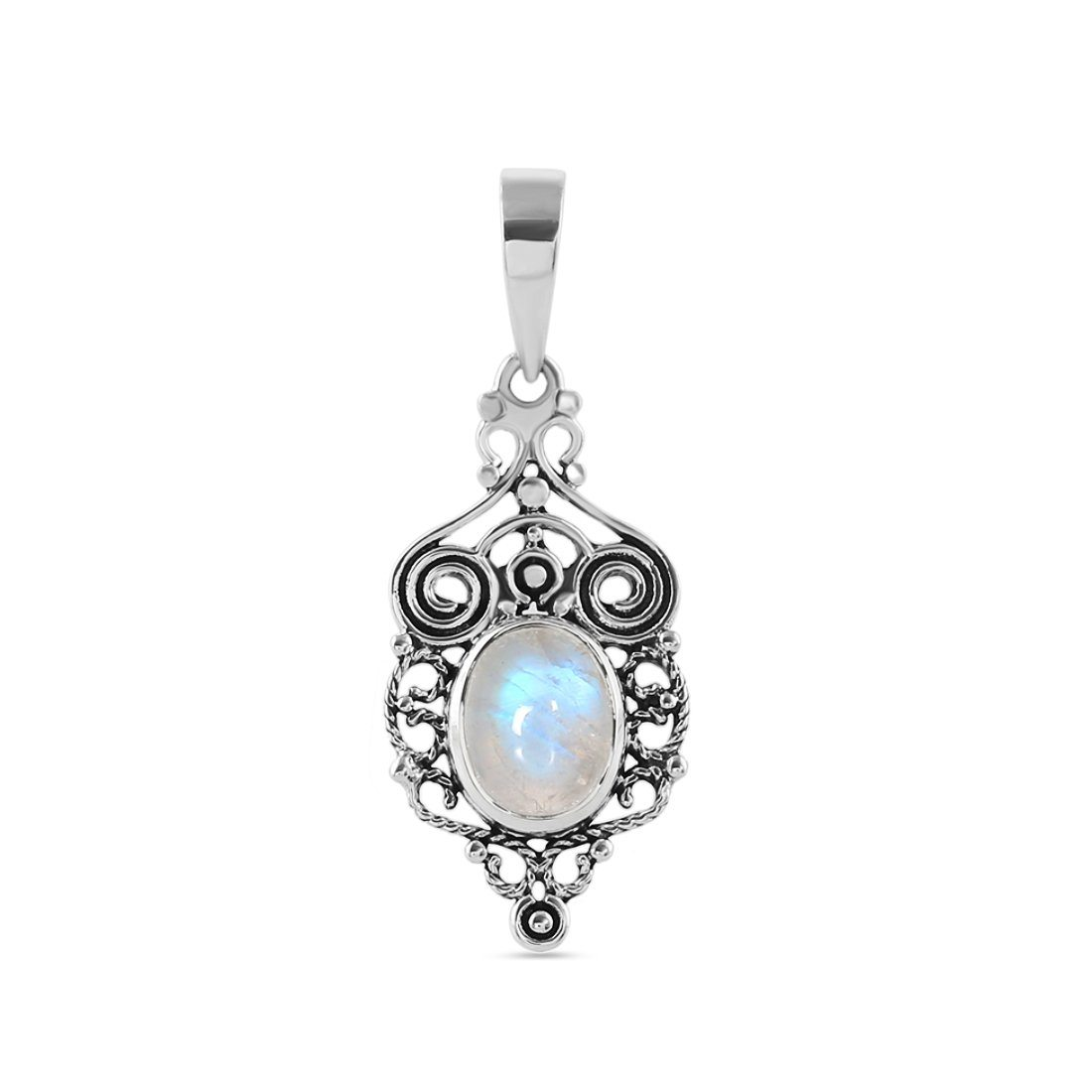 Moonstone Pendant-Royal Tempest Sale Item 925 SILVER & MOONSTONE