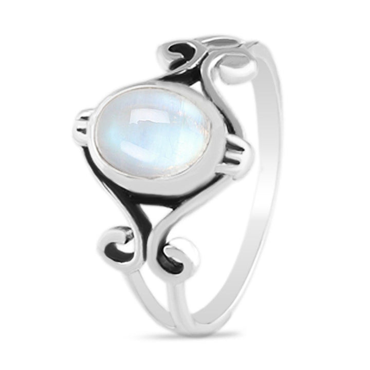 Moonstone Ring - Gracious Moondrop