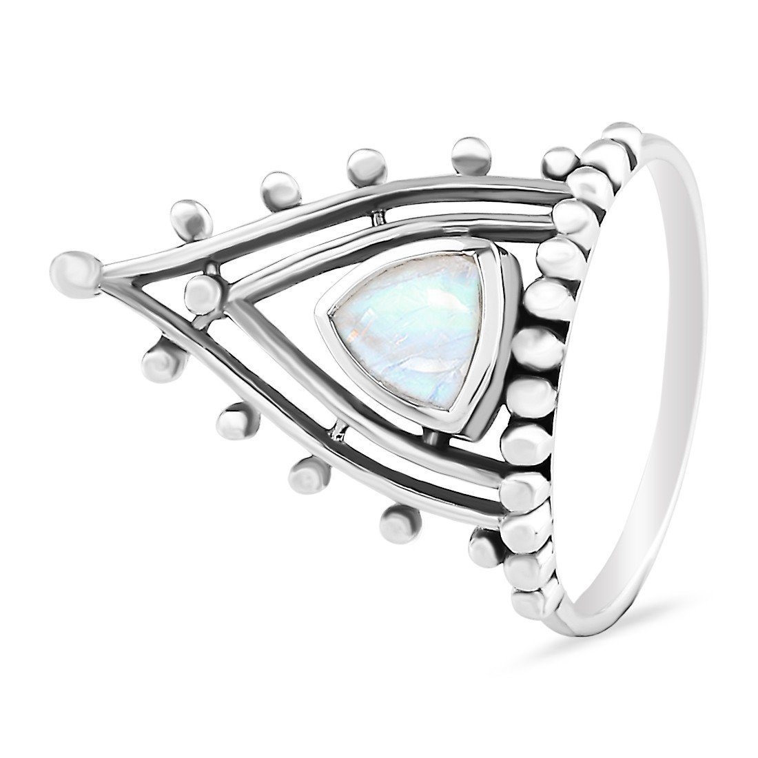 Moonstone Ring-Superior Highness Sale Item 925 SILVER & MOONSTONE