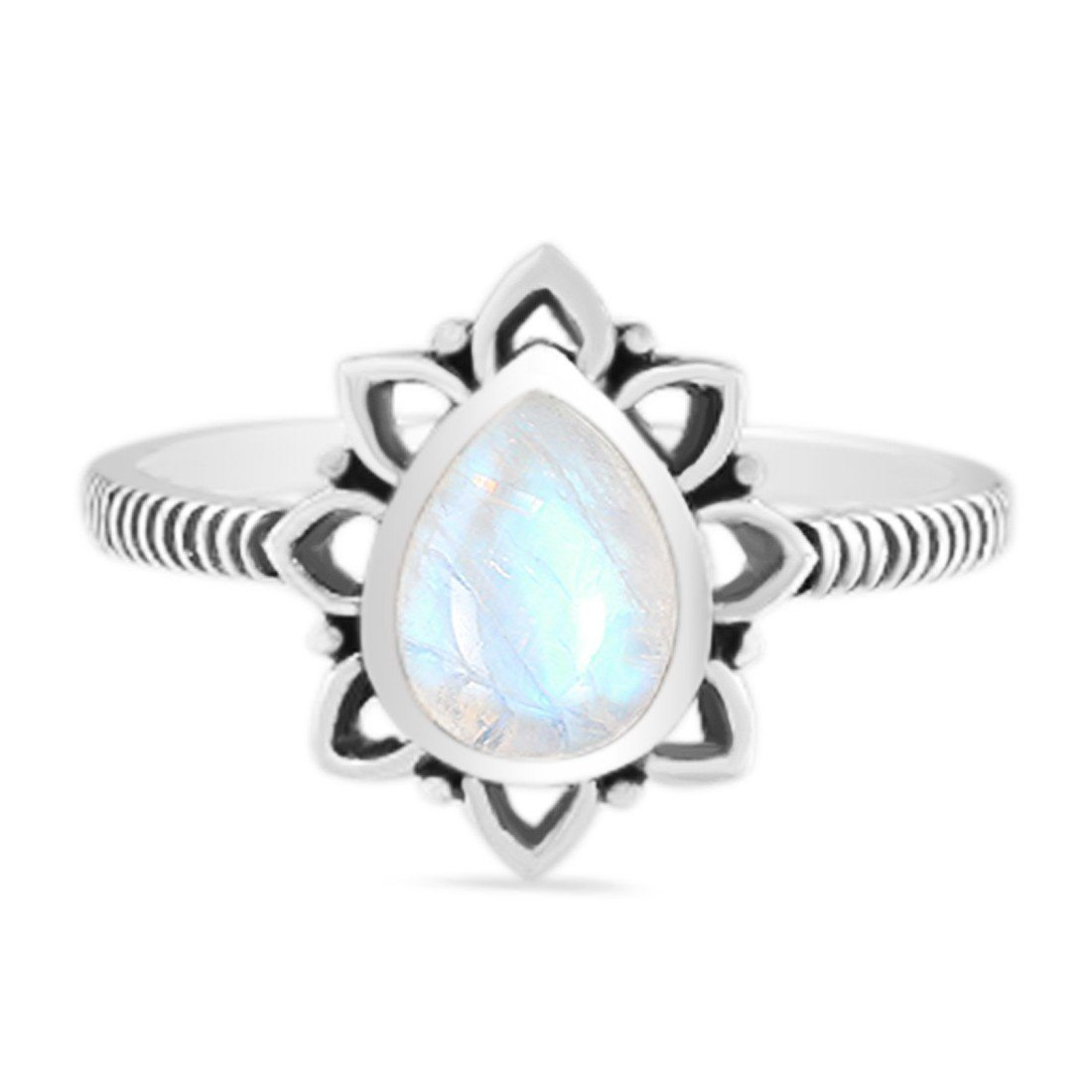 Moonstone Ring-Worthy Spark Sale Item 925 SILVER & MOONSTONE