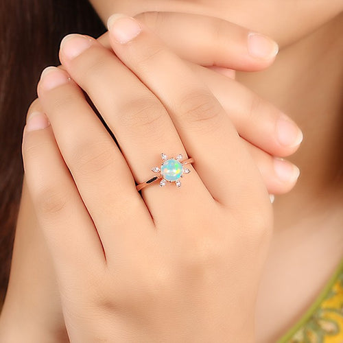 Opal Ring - Floralia