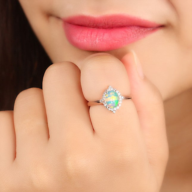 Opal Ring - Serenity